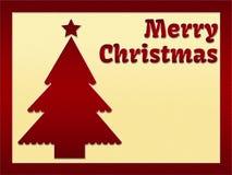 Il Babbo Natale su una slitta illustrazione vettoriale