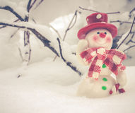 Il Babbo Natale su una slitta Immagini Stock
