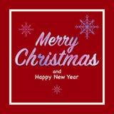 Il Babbo Natale su una slitta Illustrazione di vettore Fotografie Stock Libere da Diritti