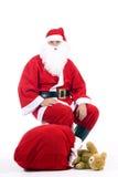 Il Babbo Natale tradizionale Fotografie Stock Libere da Diritti