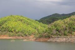 Il bacino idrico abbondante Fotografia Stock Libera da Diritti