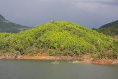Il bacino idrico abbondante Fotografie Stock