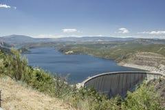 Il bacino idrico di Atazar Fotografie Stock