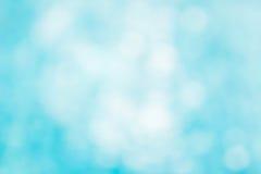 Il backgruond verde blu astratto della sfuocatura, wallpaper l'onda blu con la s Immagini Stock Libere da Diritti