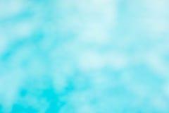 Il backgruond verde blu astratto della sfuocatura, wallpaper l'onda blu con la s Immagini Stock