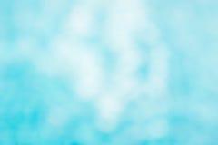 Il backgruond verde blu astratto della sfuocatura, wallpaper l'onda blu con la s Fotografia Stock Libera da Diritti