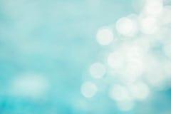 Il backgruond verde blu astratto della sfuocatura, wallpaper l'onda blu con la s Fotografie Stock Libere da Diritti