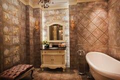 Il bagno Fotografie Stock