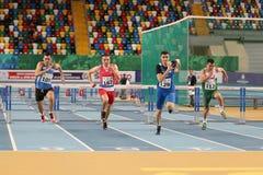 Il Balcani Junior Indoor Championships Istanbul 2017 Immagini Stock Libere da Diritti