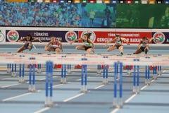 Il Balcani Junior Indoor Championships Istanbul 2017 Fotografia Stock