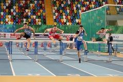 Il Balcani Junior Indoor Championships Istanbul 2017 Immagine Stock