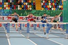 Il Balcani Junior Indoor Championships Istanbul 2017 Fotografia Stock Libera da Diritti
