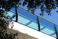 Il balcone fotografia stock