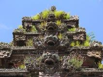 Il Balinese ripetuto scolpisce orizzontale Immagine Stock