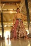 Il ballerino di abitante di Giava Fotografia Stock Libera da Diritti