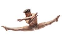 Il ballerino in studio Immagine Stock