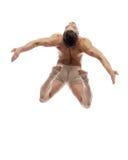 Il ballerino in studio Immagini Stock
