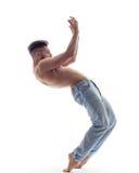 Il ballerino in studio Immagine Stock Libera da Diritti
