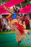 Il ballerino volante immagine stock