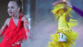Il ballo artistico assegna 2014-2015 stock footage