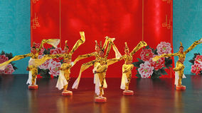 Il ballo di dinastia Tang Fotografia Stock