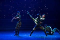 Il ballo esploratore-militare Fotografie Stock