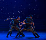 Il ballo esploratore-militare Immagine Stock Libera da Diritti