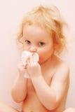 Il bambino è ammalato Fotografia Stock