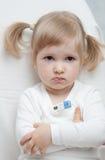 Il bambino è indisposto Fotografia Stock Libera da Diritti