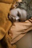 Il bambino ammalato Fotografia Stock