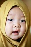 Il bambino cinese sta guardando Fotografia Stock