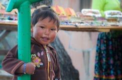 Il bambino di Tarahumara Immagine Stock