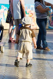 il bambino ha perso Fotografie Stock Libere da Diritti