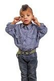 Il bambino impara Fotografie Stock