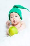 Il bambino in modo divertente Fotografia Stock Libera da Diritti
