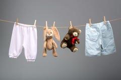 Il bambino nasce  Ragazzo o ragazza? Immagine Stock