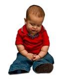 Il bambino pensa Immagine Stock Libera da Diritti