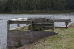 Il banco I del lago Immagine Stock Libera da Diritti