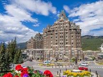 Il Banff Springs Hotel Immagini Stock