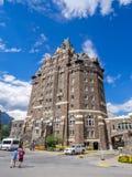 Il Banff Springs Hotel Fotografia Stock