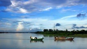 Il Bangladesh fluviale fotografia stock libera da diritti