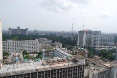 Il Bangladesh Sachibalaya o vecchio segretariato, fotografie stock libere da diritti