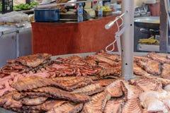 Il barbecue del coraggioso Immagine Stock