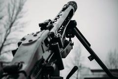 Il barilotto della mitragliatrice MG-42 Fotografia Stock