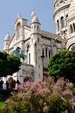 Il Bascilica di Sacre Coeur, Parigi Fotografia Stock
