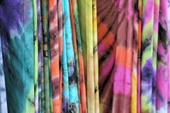 Il batik copre il modello Fotografia Stock