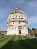Il battistero di Pisa di St John Fotografie Stock Libere da Diritti