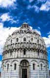 Il battistero di San Giovanni, Pisa Immagine Stock Libera da Diritti