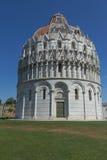 Il battistero a Pisa (Italia) Fotografie Stock Libere da Diritti