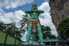 Il Batu frana Kuala Lumpur immagini stock libere da diritti
